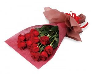 B04. プレミアムなバラの花束